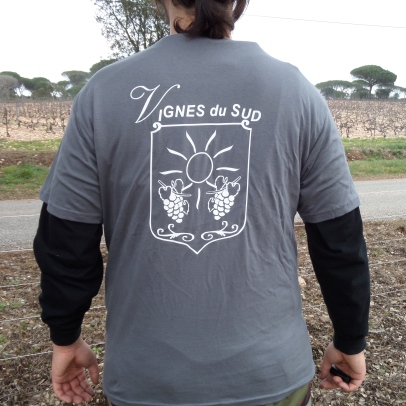 Tee-Shirt Vignes du Sud Dos